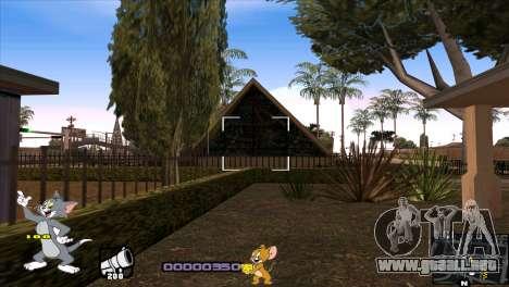 C-HUD Tom and Jerry para GTA San Andreas sexta pantalla
