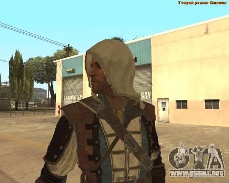 Asesino Edward para GTA San Andreas sucesivamente de pantalla