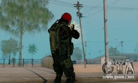 Kopassus Skin 1 para GTA San Andreas undécima de pantalla