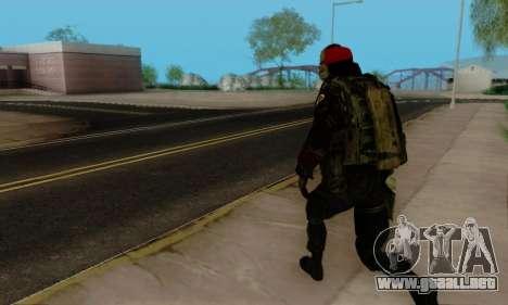 Kopassus Skin 1 para GTA San Andreas twelth pantalla