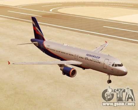 Airbus A320-200 De Aeroflot para GTA San Andreas
