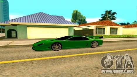 Nuevo Turismo para GTA San Andreas left