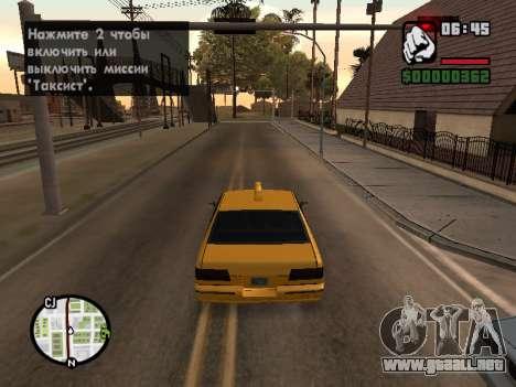 AutoDriver para GTA San Andreas