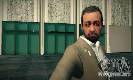 Dave Norton из GTA V para GTA San Andreas segunda pantalla