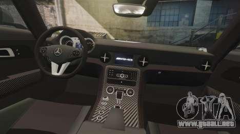 Mercedes-Benz SLS 2014 AMG Driving Academy v2.0 para GTA 4 vista superior