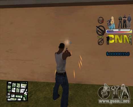 C-HUD CNN para GTA San Andreas segunda pantalla