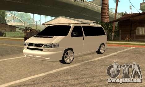 Volkswagen T4 Transporter para GTA San Andreas
