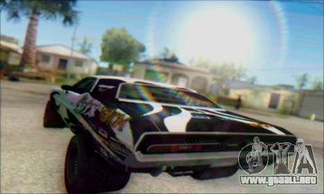 Lensflare By DjBeast para GTA San Andreas segunda pantalla