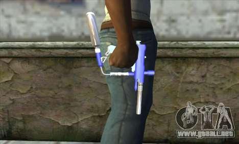 Paintball Gun para GTA San Andreas tercera pantalla