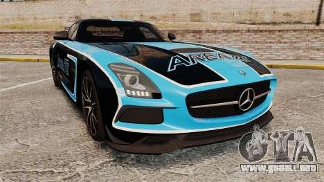 Mercedes-Benz SLS 2014 AMG Black Series Area 27 para GTA 4