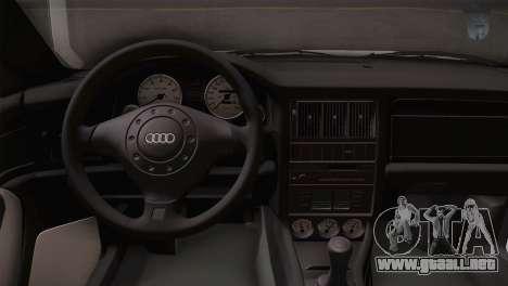 Audi RS2 Avant para la visión correcta GTA San Andreas
