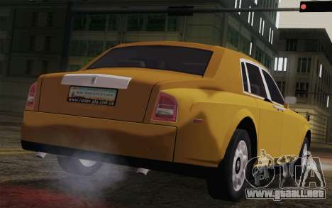 Rolls Royce Phantom 2003 para GTA San Andreas left