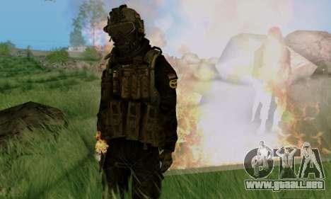 Kopassus Skin 3 para GTA San Andreas séptima pantalla