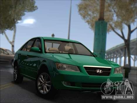 Hyundai Sonata 2009 para GTA San Andreas