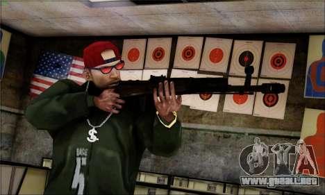 Alfa Team Weapon Pack para GTA San Andreas octavo de pantalla