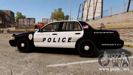 Ford Crown Victoria LCPD [ELS] para GTA 4 left