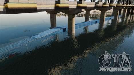 La carretera por debajo del puente para GTA 4 tercera pantalla