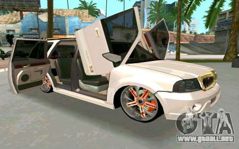 Lincoln Navigator DUB Edition para la visión correcta GTA San Andreas