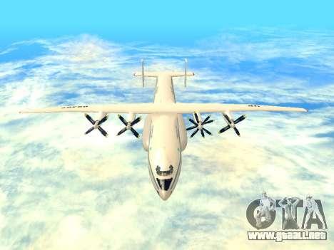 An-22 Antei para visión interna GTA San Andreas