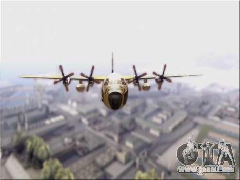 C-130 Hercules Royal Moroccan Air Force para GTA San Andreas left