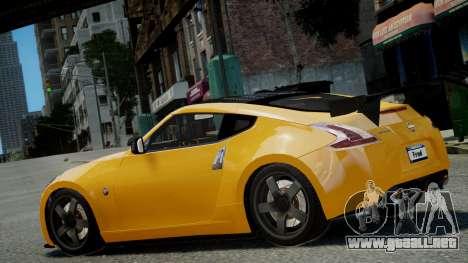 Nissan 370Z 2009 para GTA 4 left