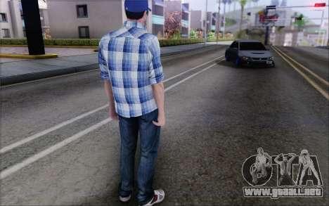 Jimmy Boston para GTA San Andreas tercera pantalla