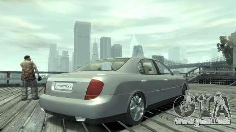 Daewoo Shiraz para GTA 4 left