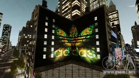 Gran publicidad de Adidas Originals para GTA 4 segundos de pantalla