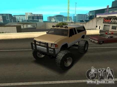 Nuevo Monstruo para GTA San Andreas left