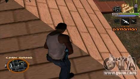 C-HUD TV-Centro para GTA San Andreas segunda pantalla