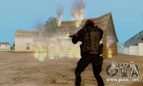 Kopassus Skin 1 para GTA San Andreas octavo de pantalla