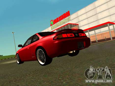 Nissan Silvia S14 Zenki para GTA San Andreas left
