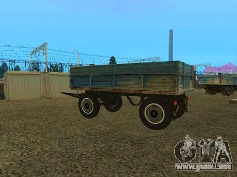 Trailer de ZIL 130 para la visión correcta GTA San Andreas