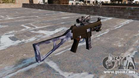 La ametralladora UMP45 para GTA 4 segundos de pantalla
