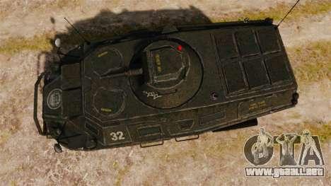 GTA IV TBoGT APC para GTA 4 visión correcta