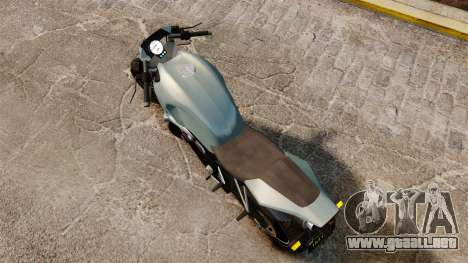 GTA V Pegassi Ruffian para GTA 4 Vista posterior izquierda