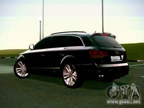 Audi Q7 para visión interna GTA San Andreas