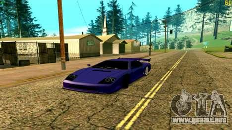 Nuevo Turismo para GTA San Andreas
