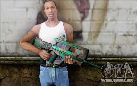Famas G2 Commando Blaze para GTA San Andreas tercera pantalla