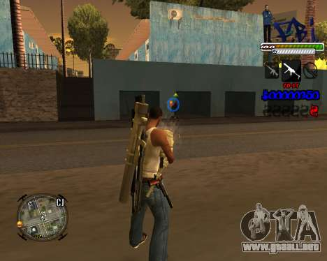 C-HUD FBI By iFreddy para GTA San Andreas