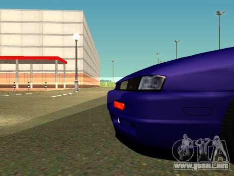 Nissan Silvia S14 Kouki para GTA San Andreas vista posterior izquierda