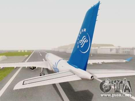 A330-202 China Eastern para GTA San Andreas left