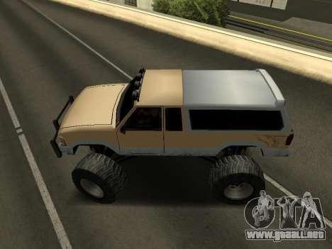 Nuevo Monstruo para la visión correcta GTA San Andreas