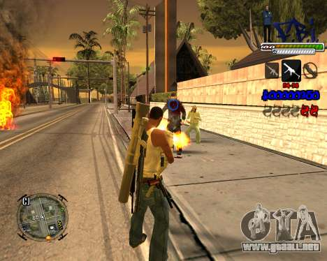 C-HUD FBI By iFreddy para GTA San Andreas tercera pantalla