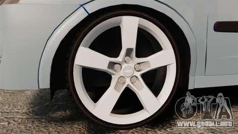 Chevrolet Corsa Premium Sedan para GTA 4 vista hacia atrás
