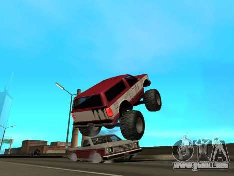 Street Monster para GTA San Andreas interior