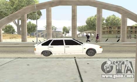 De los FLOREROS 2114 Avtosh para GTA San Andreas vista hacia atrás
