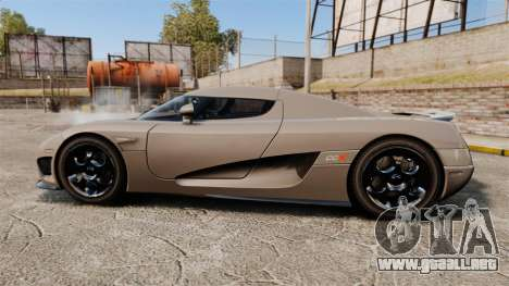 Koenigsegg CCX para GTA 4 left