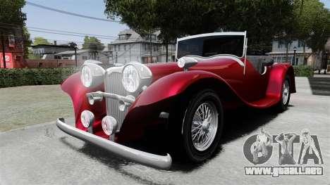 Jaguar SS100 para GTA 4