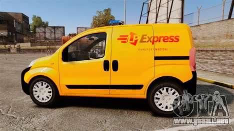 Peugeot Bipper LP EXPRESS [ELS] para GTA 4 left